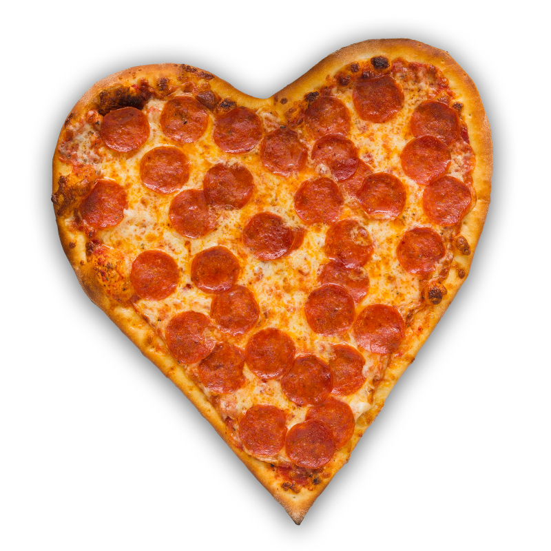 Winners Heart pizza